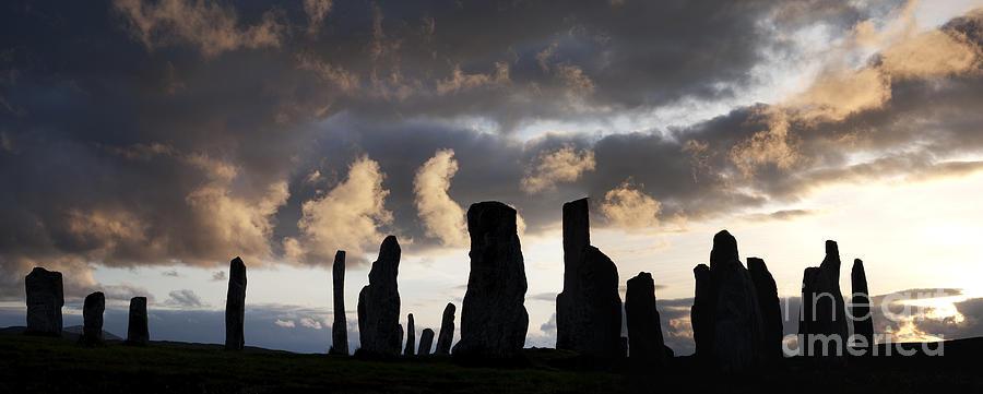 Callanish Photograph - Callanish Standing Stones by Tim Gainey