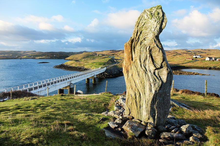 Callanish Viii Standing Stone, Isle Of Photograph by Theasis