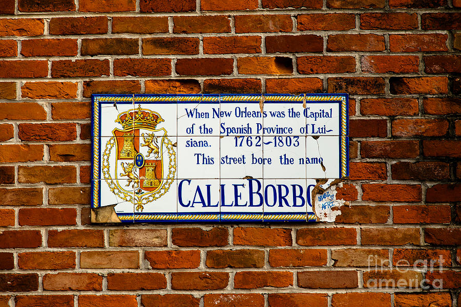 New Orleans Photograph - Calle Borbo by Susie Hoffpauir