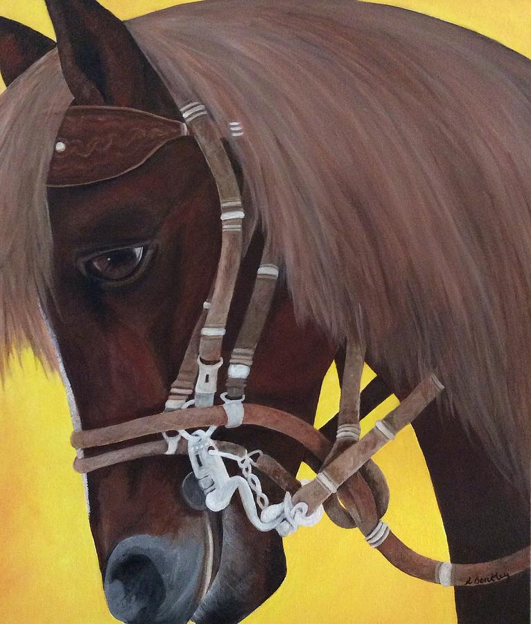 Horse Painting - Callie by Lisa Bentley