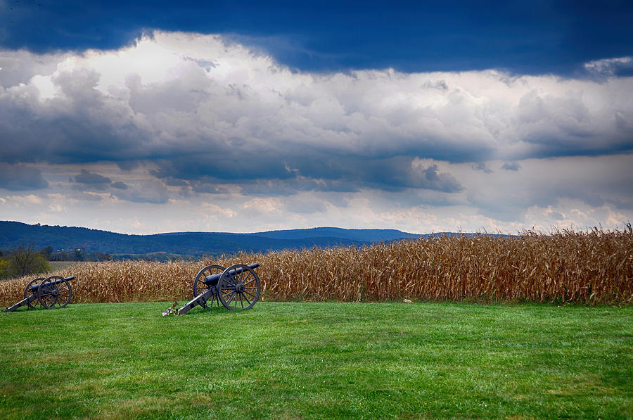 Cannon Photograph - Calm Before The Storm 2 by Rhonda Negard