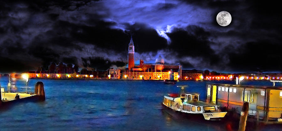 Ocean Digital Art - Calm Before The Tourists by Cary Shapiro