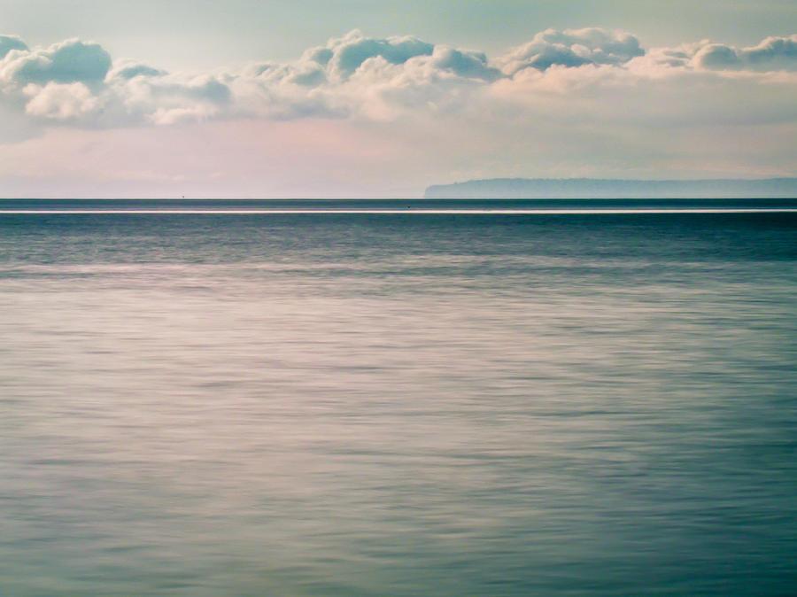 Calm Blue Ocean by Eva Kondzialkiewicz