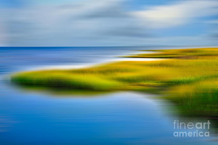Outer Banks Photograph - Calm Waters - A Tranquil Moments Landscape by Dan Carmichael