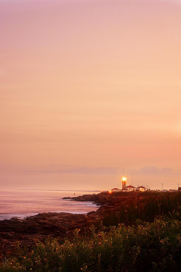 Calming Visual Beavertail Lighthouse Art Photograph By Lourry Legarde
