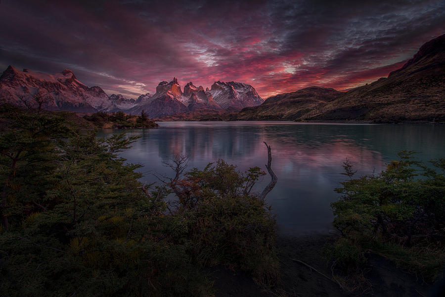 Landscape Photograph - Calmness Before The Wind Blows by Peter Svoboda, Mqep