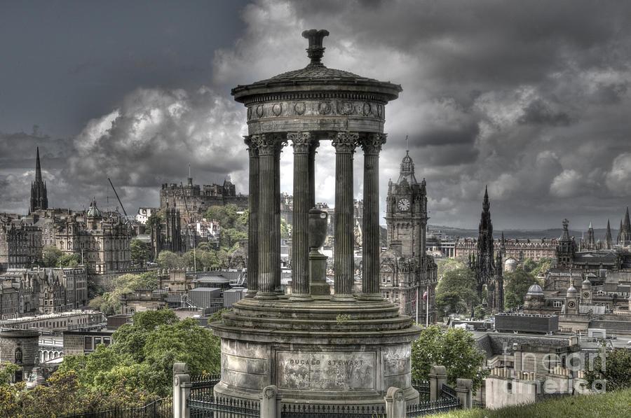 Edinburgh Photograph - Calton Hill by Marion Galt