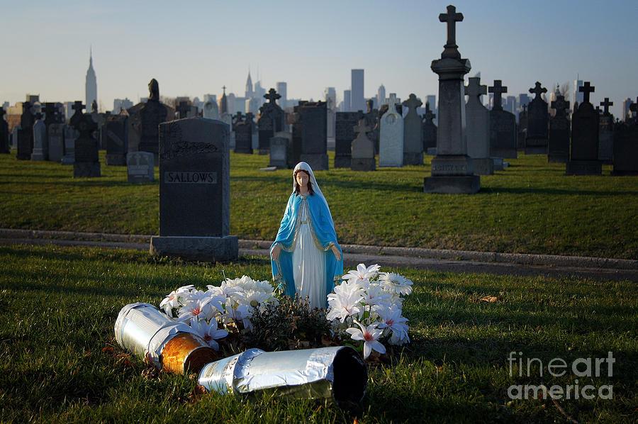 Queens Photograph - Calvary Cemetery by Mark Thomas
