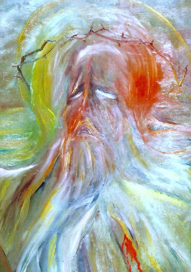 Gorecki Painting - Calvary by Henryk Gorecki