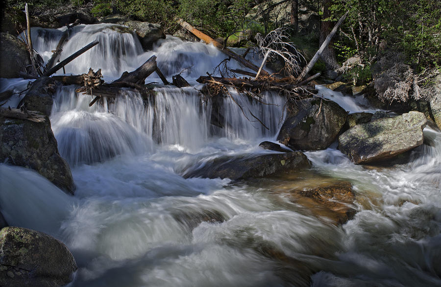 Rocky Mountain National Park Photograph - Calypso Cascades by Tom Wilbert