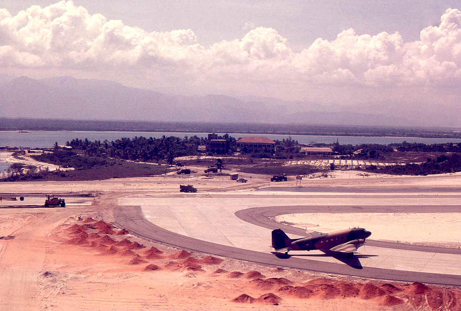 Airfield Photograph - Cam Rahn Bay Airfield by Norman Johnson