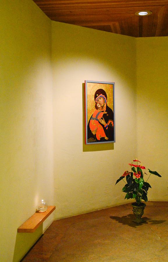 Camaldoli Monastery Prayer Room Photograph by Jeff Black