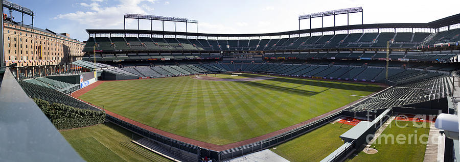 Oriole Park Photograph - Camden Yards - Baltimore Orioles by Darleen Stry