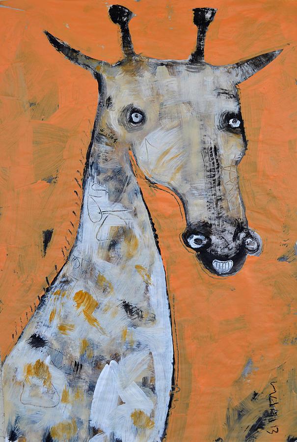 Camel Painting - Camelopardus by Mark M  Mellon