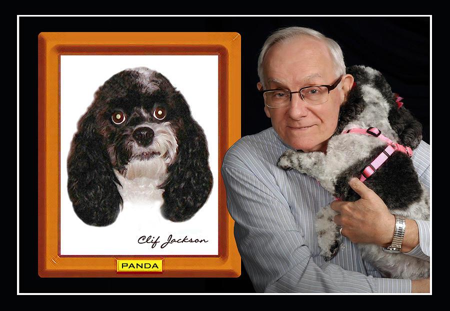 Clif Jackson Art Photograph - Camera-shy Cockapoo by Clif Jackson