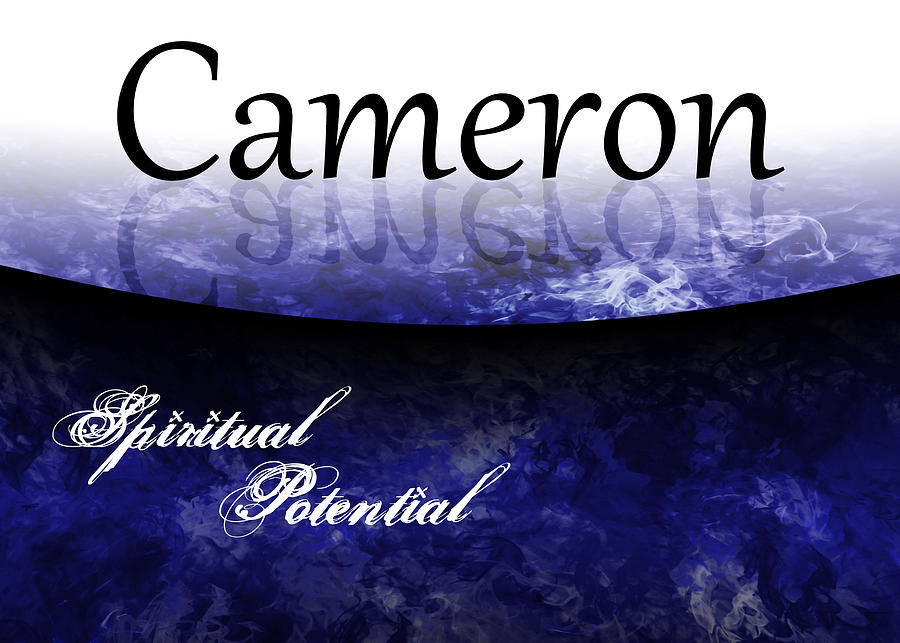 All Painting - Cameron - Spiritual Potential by Christopher Gaston