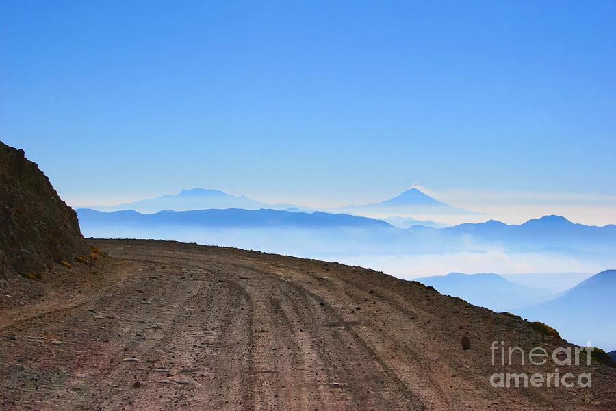 Camino en Volcan Nevado de Toluca by Francisco Pulido