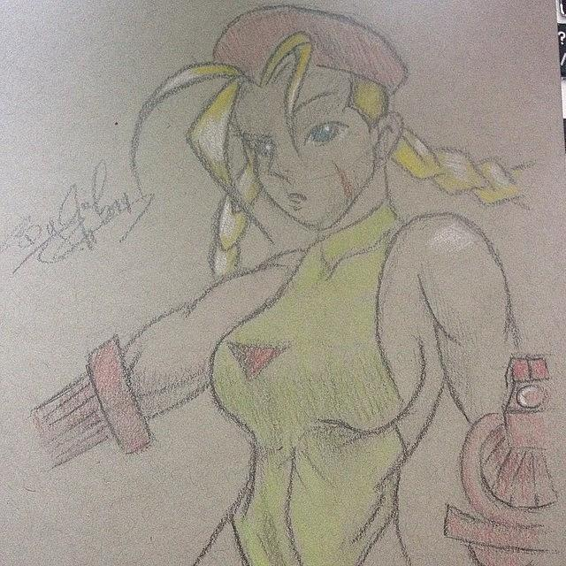 Streetfighter Photograph - Cammy From The Street Fighter by Julia Campbell