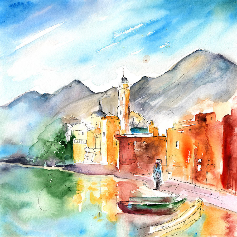 Italy Painting - Camogli In Italy 11 by Miki De Goodaboom