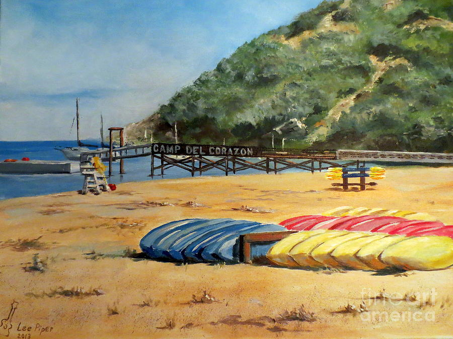 California Painting - Camp Del Corazon  by Lee Piper