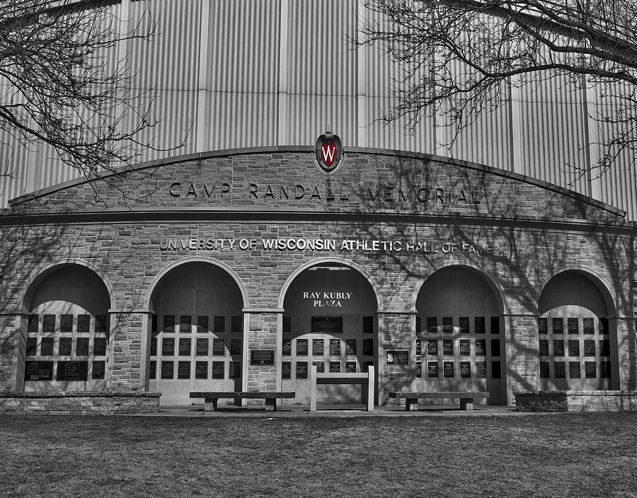 Camp Randall - Madison Photograph by Steven Ralser