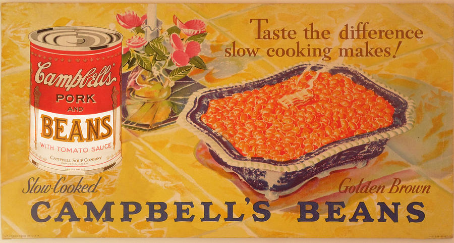 Campbell's Pork and Beans by Woodson Savage
