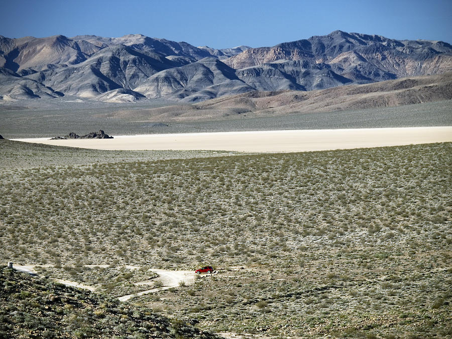 Death Valley Photograph - Camped At The End Of The Road by Joe Schofield