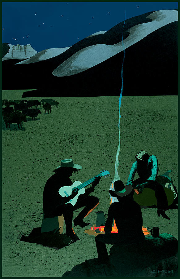 Campfire by Clifford Faust