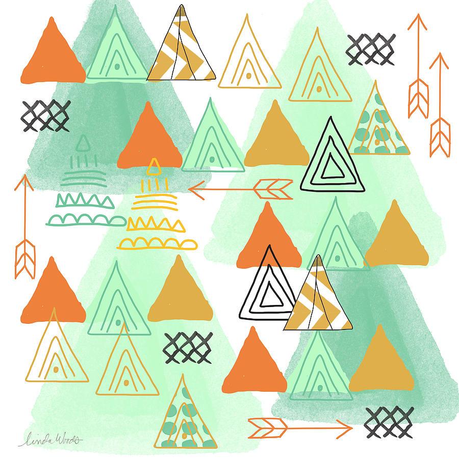 Camping Painting