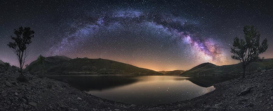 Camporredondo Milky Way Photograph by Carlos F. Turienzo