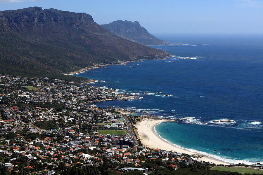 View Of Camps Bay And Bakoven Bay Photograph