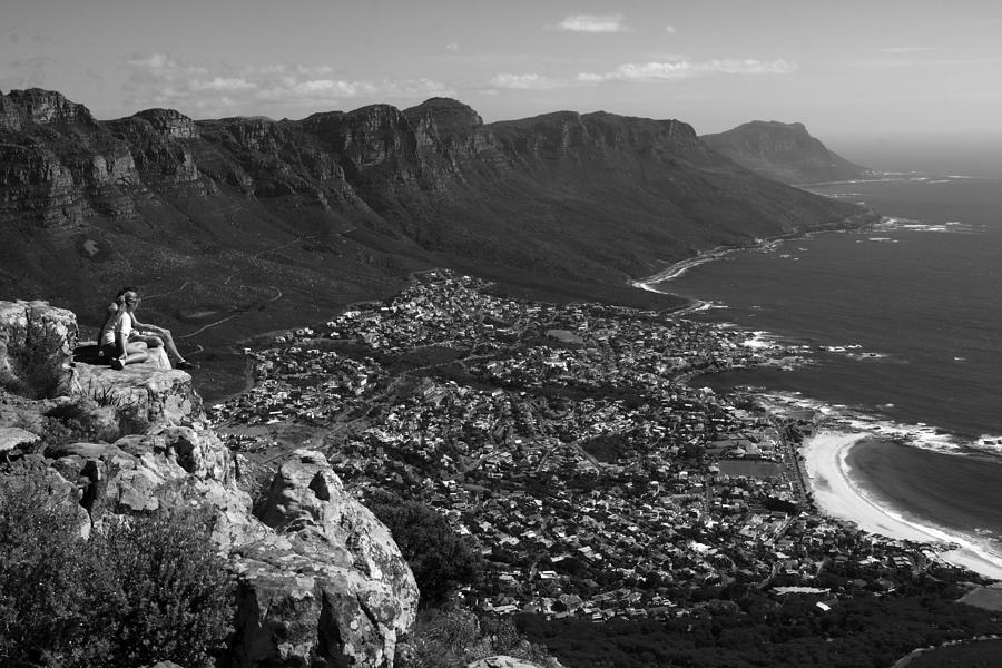 Camps Bay View Cape Town Photograph