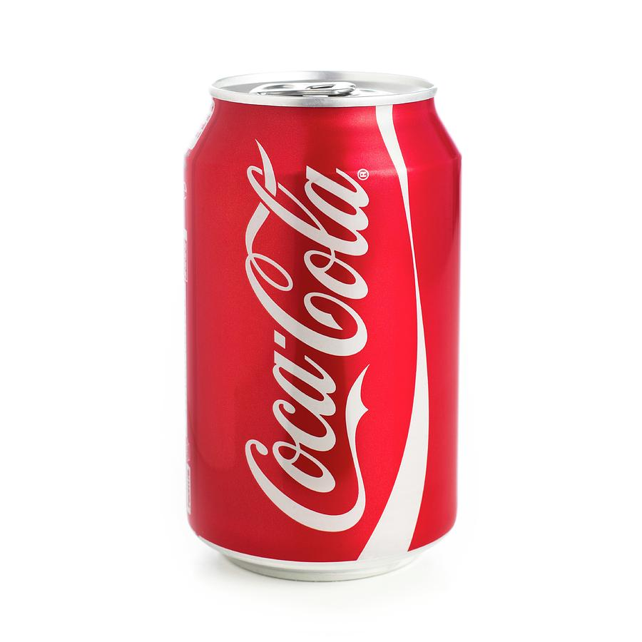 Coca Cola Photograph - Can Of Coca Cola by Science Photo Library