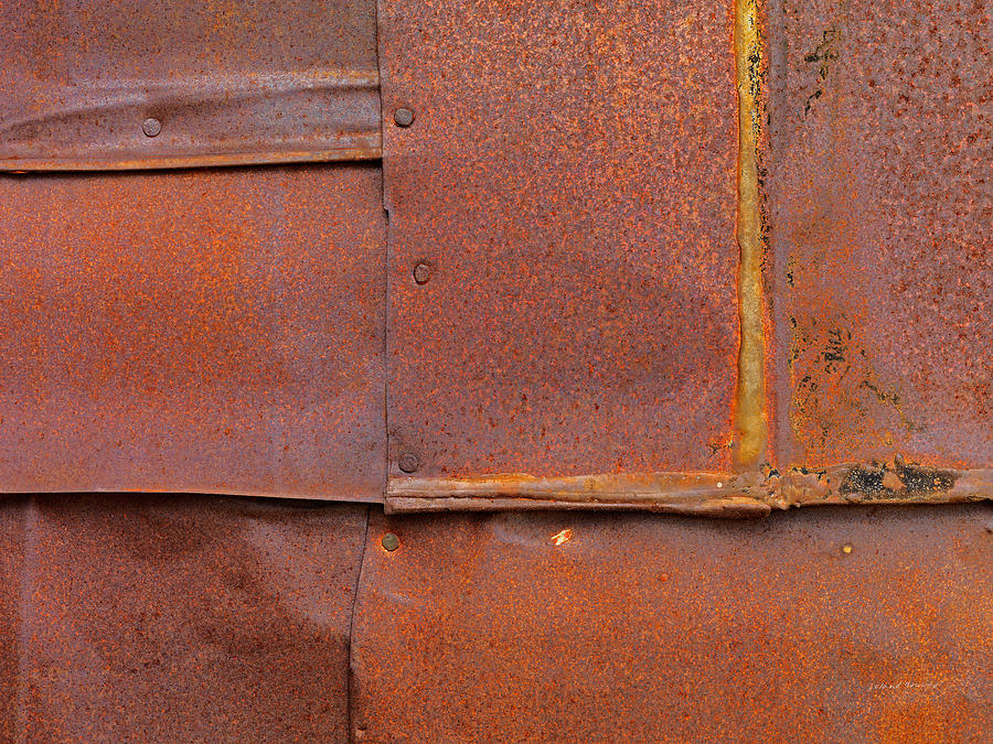 Bodie Photograph - Can Wall 5 by Leland D Howard