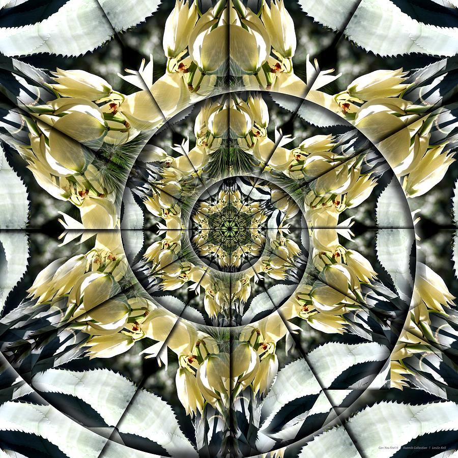 Kell Digital Art - Can You Feel It by Leslie Kell