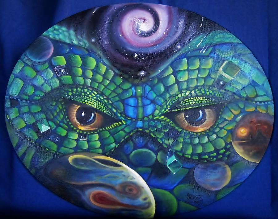 Surrealism Painting - Can You See Me Now by Sherry Strong