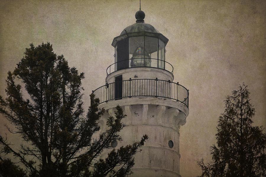 Beacon Photograph - Cana Island Light by Joan Carroll