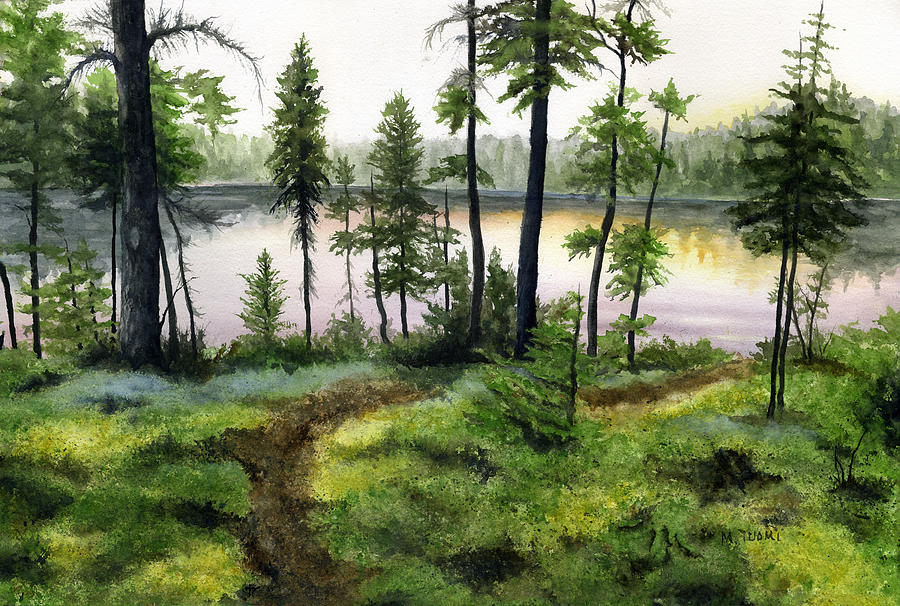 Canada Painting - Canada Morning by Mary Tuomi