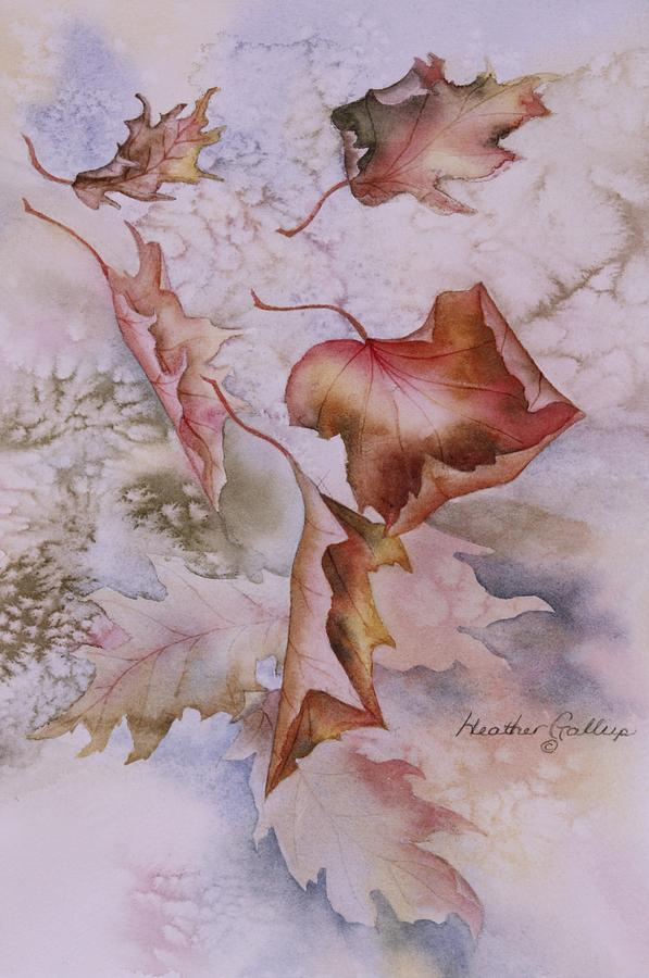 Canadian Maple Leaves Painting - Canadian Maple by Heather Gallup