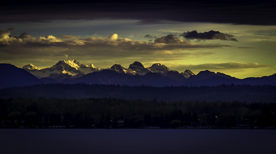 Washington Photograph - Canadian Montain by Blanca Braun