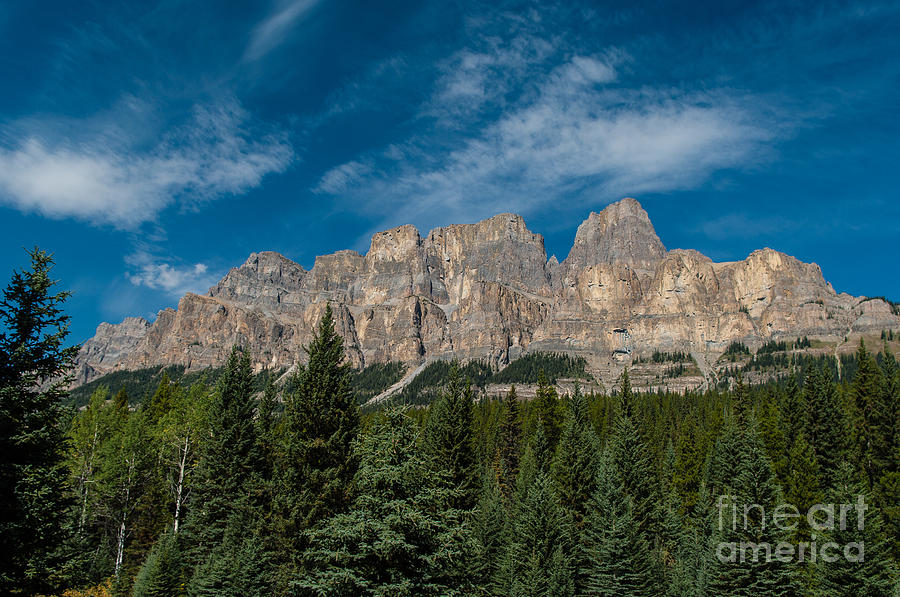 Canadian Rockies Photograph - Canadian Rockies 2.0570 by Stephen Parker