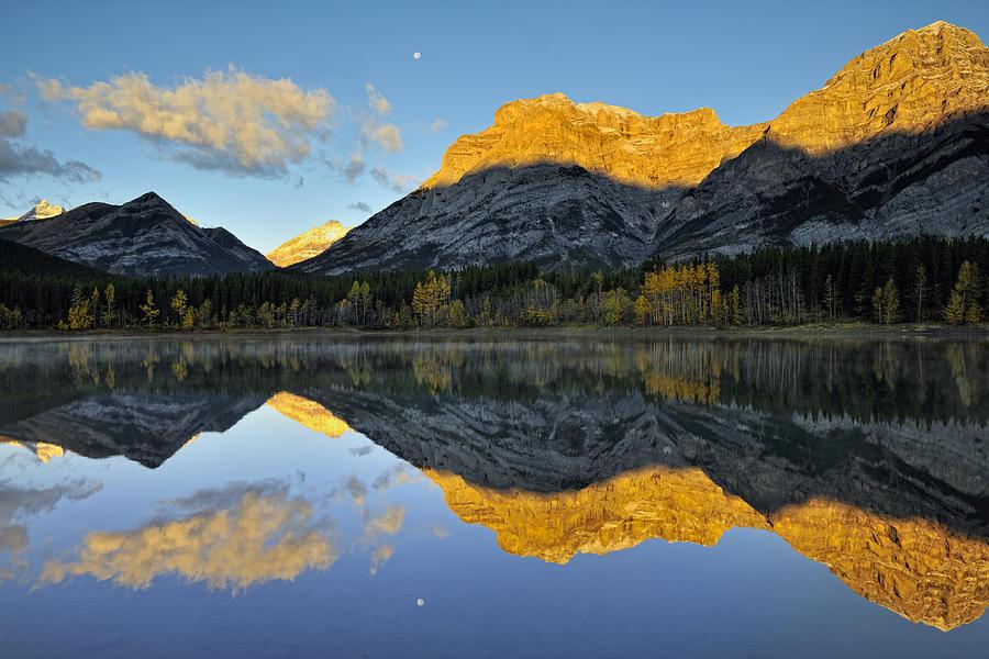 Canadian Rocky Mountain Autumn Landscape by Don Johnston