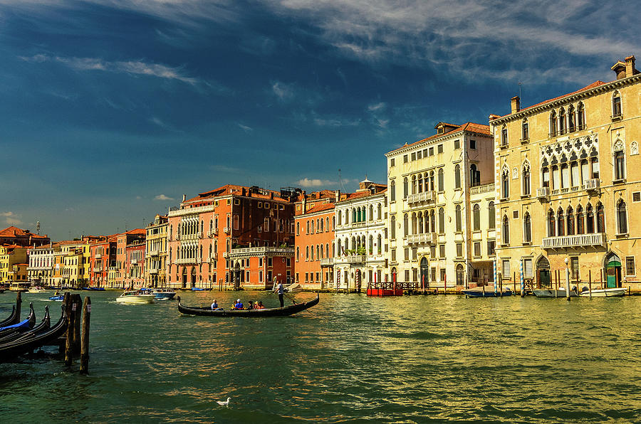 Canal Grande, Venice Photograph by Marius Roman