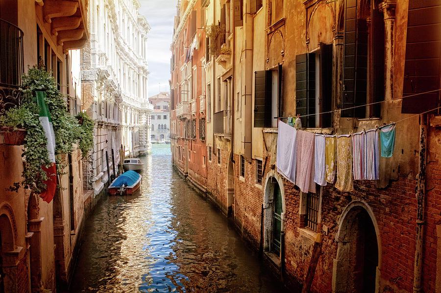 Canal Minor. Venice Photograph by Zu Sanchez Photography