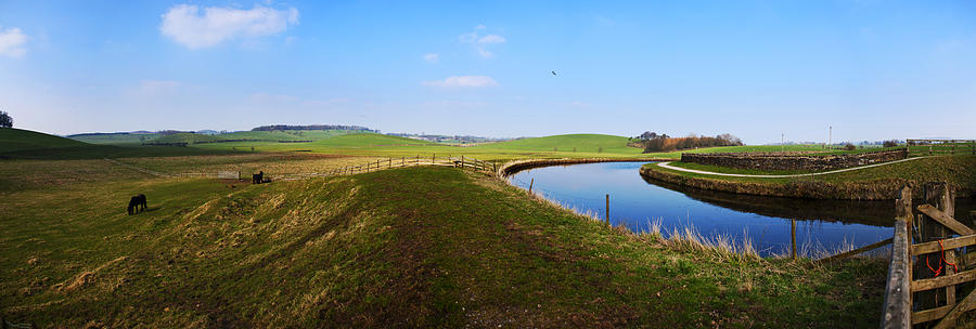 Panorama Photograph - Canal by Riley Handforth