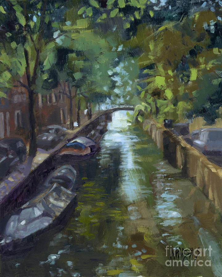 SOLD Canals of Coexistence by Nancy  Parsons