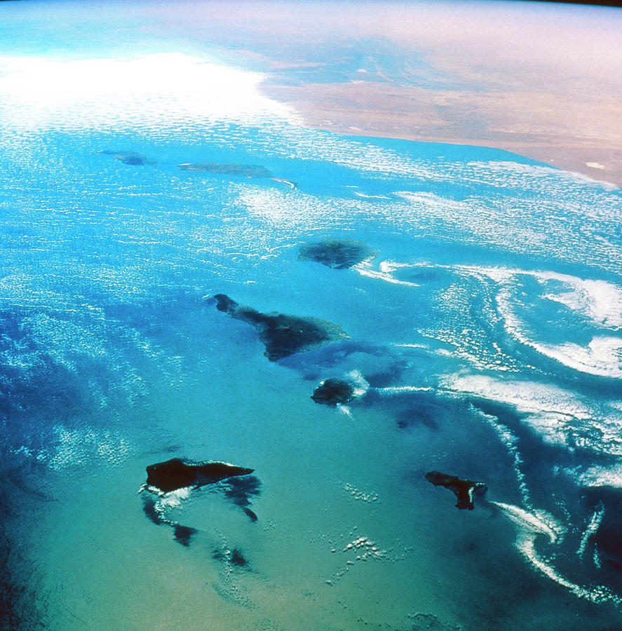 Canary Islands Photograph - Canary Islands Seen From Space by Nasa/science Photo Library