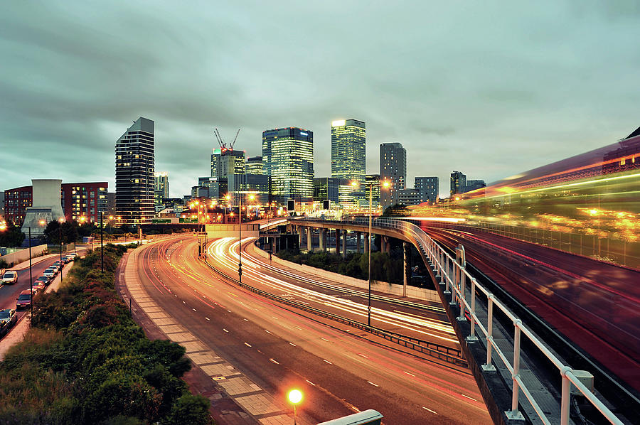 Canary Wharf Photograph by Thank You For Choosing My Work.