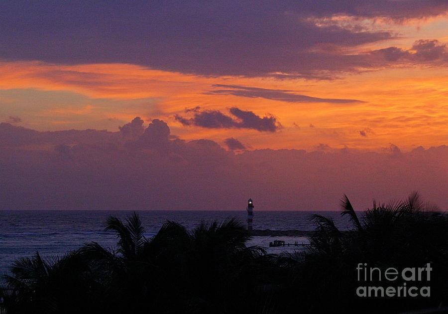 Cancun Lighthouse Photograph - Cancun Lighthouse by Halifax photographer John Malone
