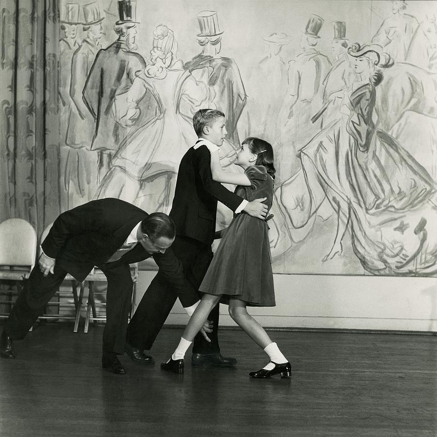 Candida Mabon And William C. Breed At Dancing Photograph by Frances Mclaughlin-Gill
